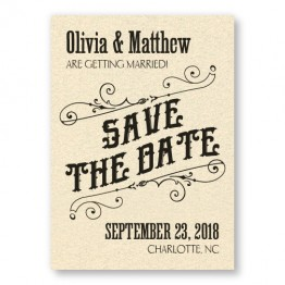 Mara Thermography Save the Date Cards