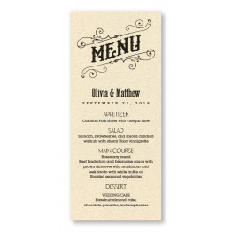Mara Thermography Menu Cards