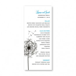 Pick a Posy Menu Cards
