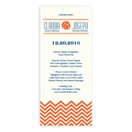 Frances Thermography Menu Cards