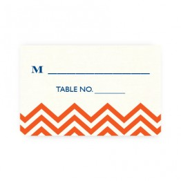 Frances Thermography Seating Cards
