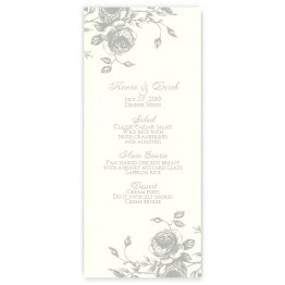 Elizabeth Menu Cards