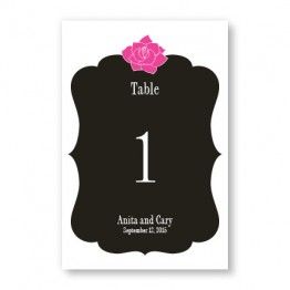 Blooming Inspiration Table Cards
