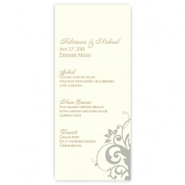 Cassandra Menu Cards
