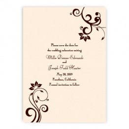 Millie Save the Date Cards