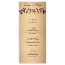 Emma Menu Cards