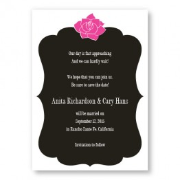 Blooming Inspiration Save The Date Cards