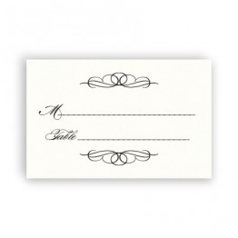 Bailey Thermography Seating Cards