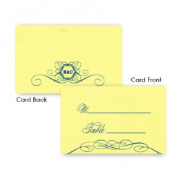 Fallon Thermography Seating Cards