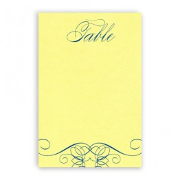 Fallon Thermography Table Cards