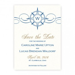 Compass Save the Date Cards