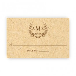 Laurel Seating Cards