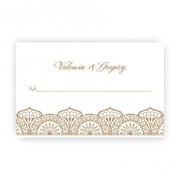 Moroccan Seating Cards