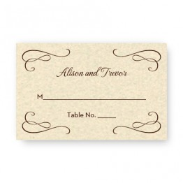 Sweet Script Seating Cards