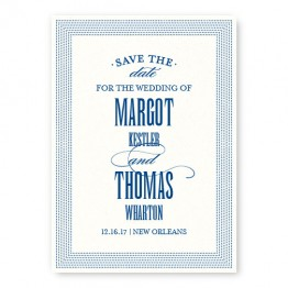 Broadway Marquee Save the Date Cards