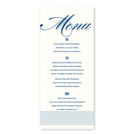 Broadway Marquee Menu Cards