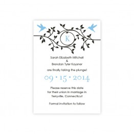 Bright Beginnings Save The Date Cards