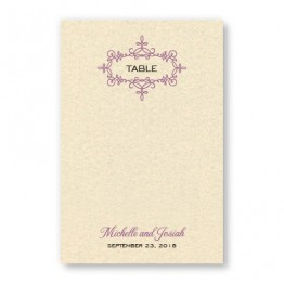 Rosie Table Cards