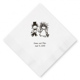 Children of the Inner Light Holding Hands Luncheon Napkins