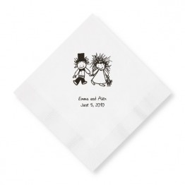 Children of the Inner Light Holding Hands Beverage Napkins