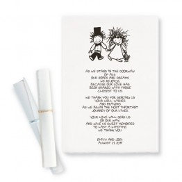 Children of the Inner Light Holding Hands Scroll