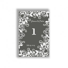 Flowering Vines Table Cards