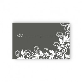 Flowering Vines Seating Cards