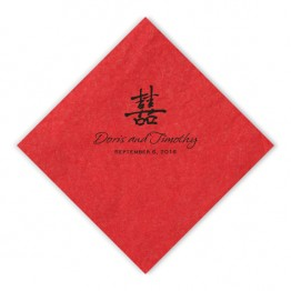 May Beverage Napkins