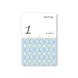 Distinctive Design Table Cards