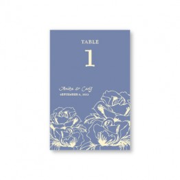 Blooming Roses Table Cards