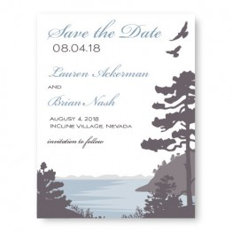 Lakeside Save The Date Cards