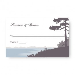 Lakeside Seating Cards