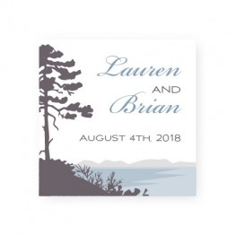 Lakeside Favor Tags