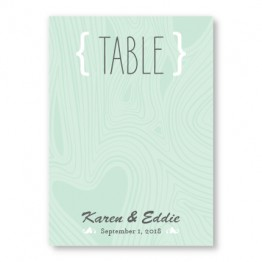 Branch & Woodgrain Table Cards