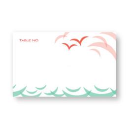 Ocean Seating Cards