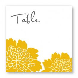 Bliss Table Cards