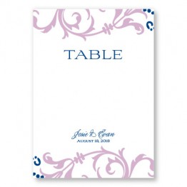 Josie Table Cards