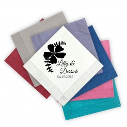 Bloom Beverage Napkins