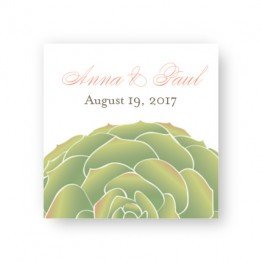 Succulent Favor Tags