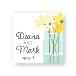 Mason Jar Favor Tags