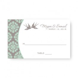 Two Birds Seating Cards