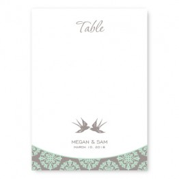 Two Birds Table Cards