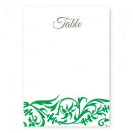 Damask Table Cards