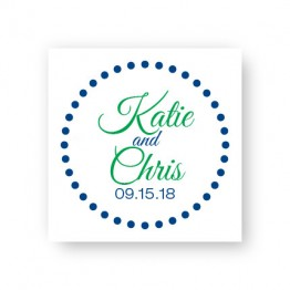 Circles and Dots Favor Tags