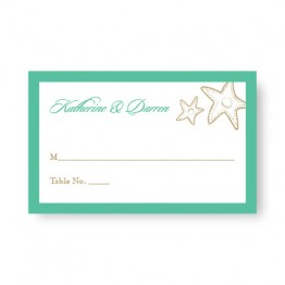 Classic Coastal Seating Cards