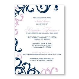 Josie Bridal Shower Invitations
