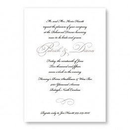 Grace Rehearsal Dinner Invitations