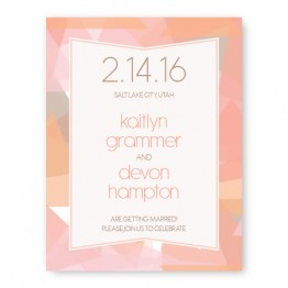 Gemstone Save The Date Cards