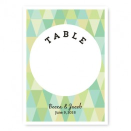 Prism Table Cards