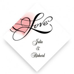Heartfelt Love Favor Tags